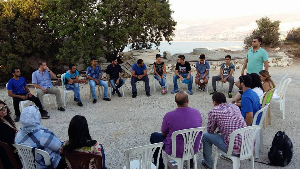 Young Syrians and Lebanese engage in open discussions about fears, hopes, and daily lives