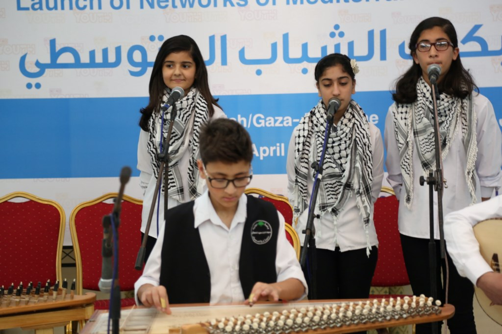 Launch of NET-MED Youth in Palestine